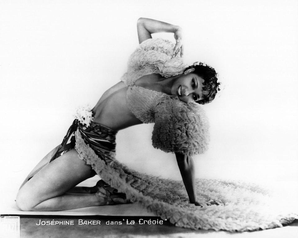 <p>Josephine Baker was one of the most iconic dancers and singers in the 1920s. Growing up with humble beginnings, she took it upon herself to learn how to dance and soon became a world-renown sensation, never afraid to push the label in fashion and style. Later in life, she was a leader in the French Revolution and American civil rights movement. If you're looking for a new role model, here she is.</p>