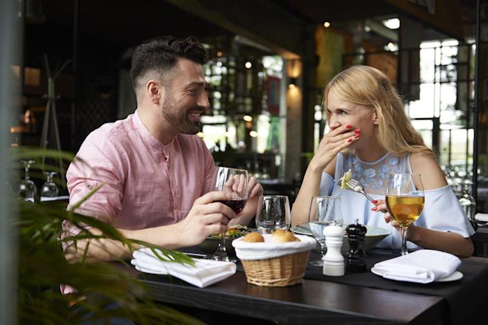 """<p>""""My husband plans <a href=""""https://www.prevention.com/sex/a20501736/date-night-ideas/"""" rel=""""nofollow noopener"""" target=""""_blank"""" data-ylk=""""slk:date nights"""" class=""""link rapid-noclick-resp"""">date nights</a> and surprises me. He organizes the sitter and picks a restaurant he knows I like. Surprising and planning is the best gift of all."""" –Audra</p>"""