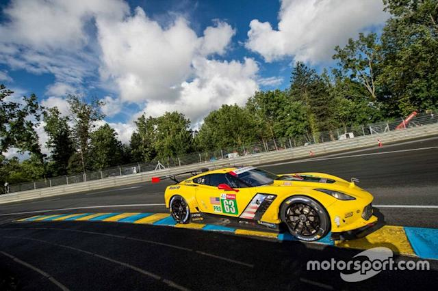 "#63 Corvette Racing Chevrolet Corvette C7.R: Jan Magnussen, Antonio Garcia, Mike Rockenfeller <span class=""copyright"">Marc Fleury</span>"