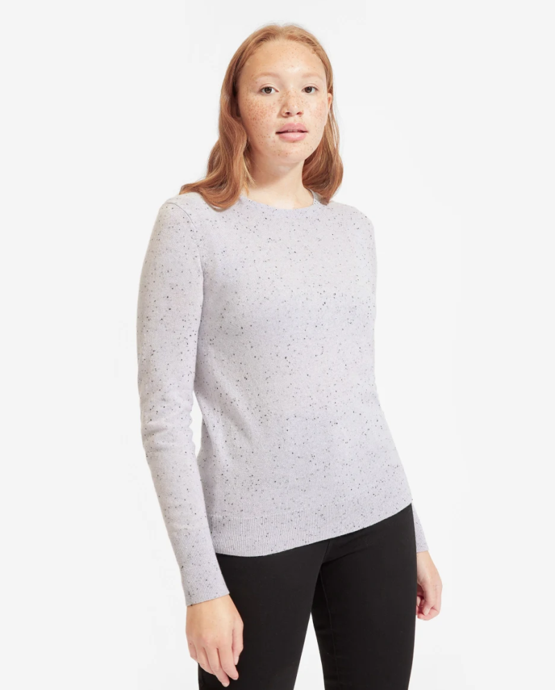 Lightweight yet cozy, Everlane's Cashmere Crew is a must-have for every closet. (Photo: Everlane)