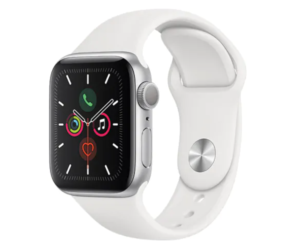 Apple Watch Series 5 40mm in White (Photo via The Source)