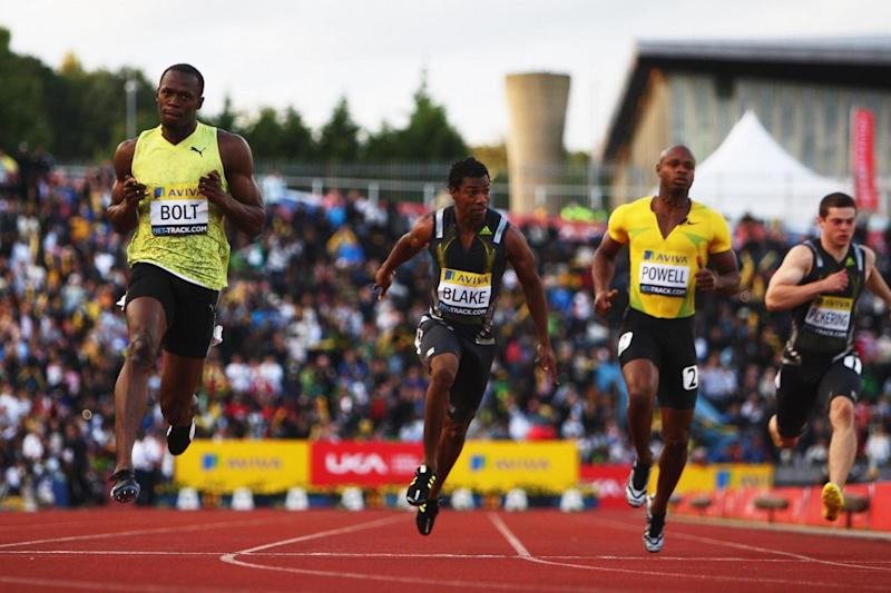 Diamond League: Usain Bolt at Crystal Palace (Getty Images)