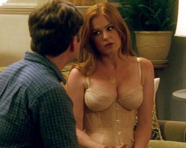 Get Isla Fisher Lingerie  Gif