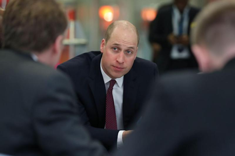 William regularly speaks about mental health and the royals Heads Together campaign. Photo: Getty