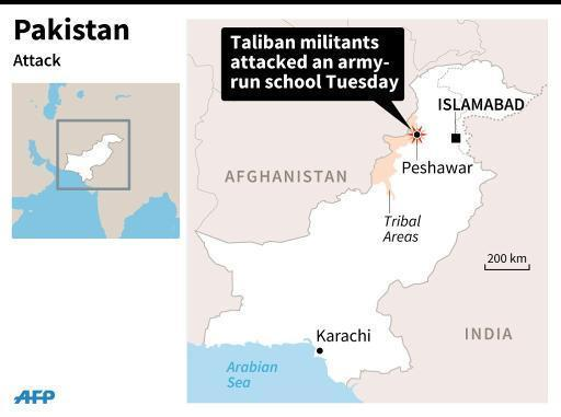 Three dead, 35 wounded in attack on Pakistan school