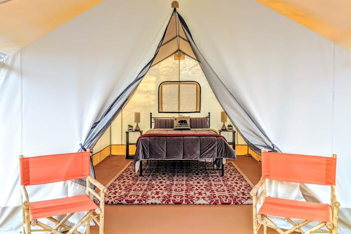 Wildhaven Sonoma opened its new safari-style tents by the Russian River on June 1.