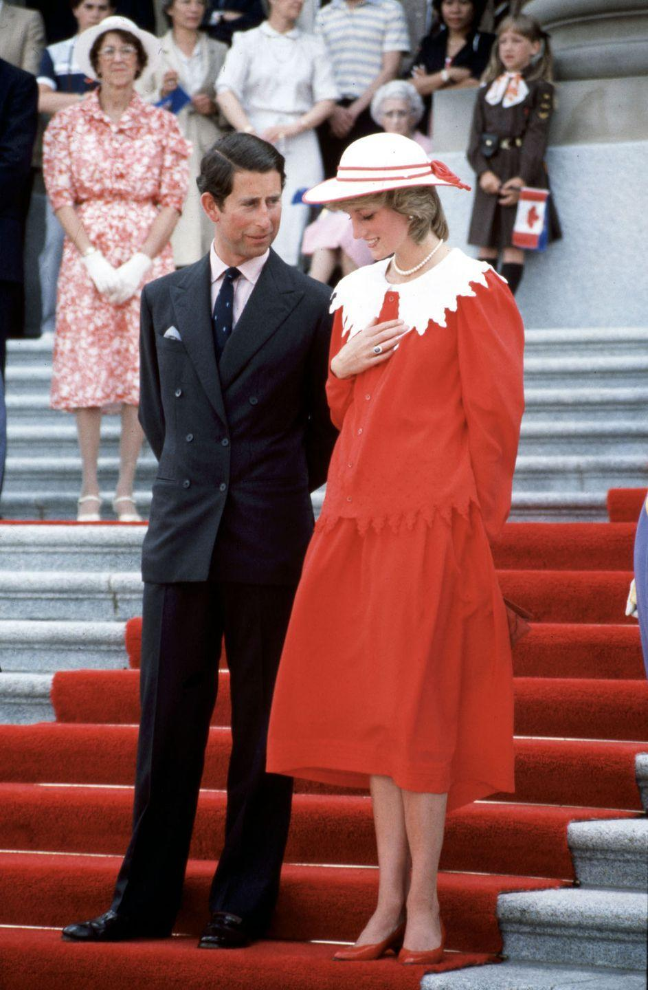 """<p><strong>When did they meet?</strong> 1977</p><p><strong>How did they meet? </strong>Being a member of aristocracy herself, <a href=""""https://www.cosmopolitan.com/uk/fashion/celebrity/g35161868/princess-diana-fashion-before-royal/"""" rel=""""nofollow noopener"""" target=""""_blank"""" data-ylk=""""slk:Diana grew up"""" class=""""link rapid-noclick-resp"""">Diana grew up</a> around the Royal Family and often played with Prince Edward when they were both children. But, it wasn't until 1977 that <a href=""""https://www.cosmopolitan.com/uk/reports/a34695721/prince-charles-princess-diana-wedding-note/"""" rel=""""nofollow noopener"""" target=""""_blank"""" data-ylk=""""slk:she met Prince Charles"""" class=""""link rapid-noclick-resp"""">she met Prince Charles</a>, who was dating her elder sister, Sarah, at the time. </p><p>Two years later, the pair reconnected when they were both single and got engaged after just six months.</p>"""
