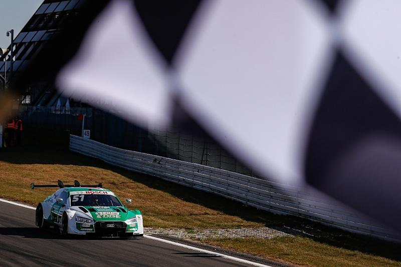 Frijns survives to clinch Nurburgring victory