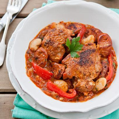 Chicken and Chorizo Casserole: Recipes