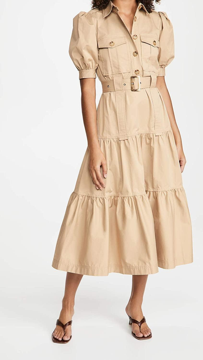 <p>The utility style of this <span>Derek Lam 10 Crosby Buffy Maxi Dress</span> ($425) is so cool.</p>