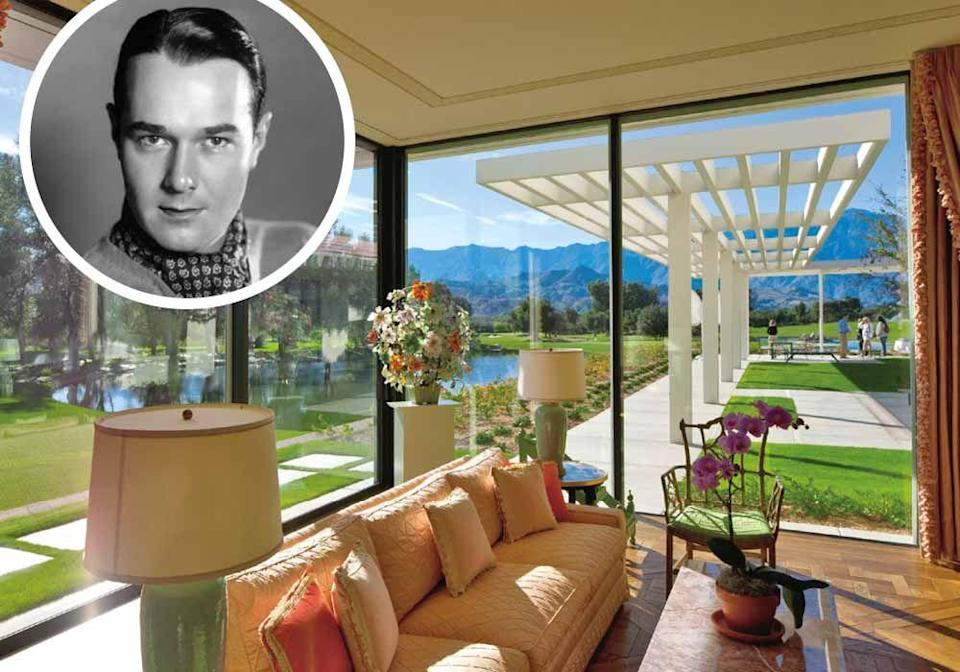 """<p>When Hollywood actor and Staunton native William Haines was denied parts because he was gay, he started an interior design business and went on to decorate for Joan Crawford and Ronald and Nancy Reagan at <strong><a href=""""https://sunnylands.org/"""" rel=""""nofollow noopener"""" target=""""_blank"""" data-ylk=""""slk:Sunnylands"""" class=""""link rapid-noclick-resp"""">Sunnylands</a></strong>.</p>"""