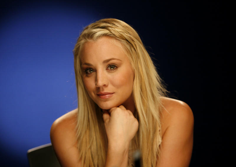 """This Sept. 25, 2012 photo shows actress Kaley Cuoco in New York. Cuoco stars as Penny in the CBS hit comedy, """"The Big Bang Theory."""" (AP Photo/John Carucci)"""