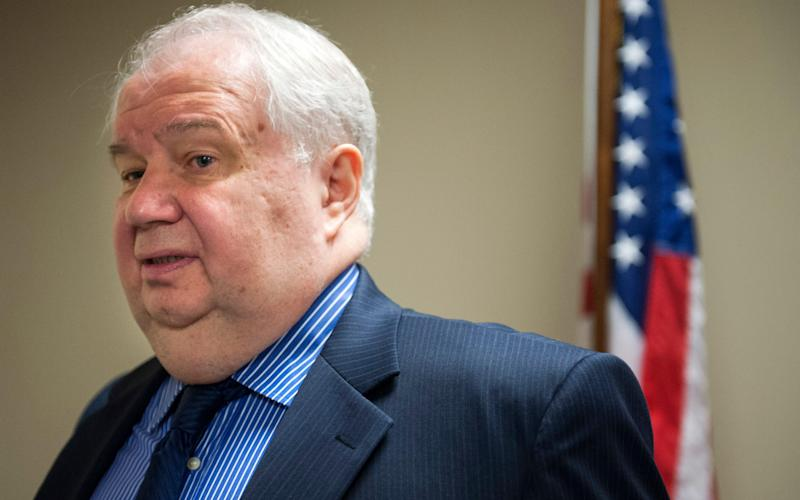 Sergey Kislyak, Russia's ambassador to the U.S. - Cliff Owen/AP