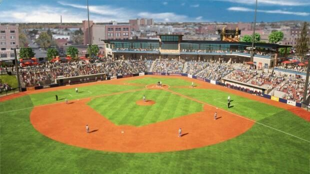 The Regina Red Sox say a new stadium like the one outlined in this concept image is overdue.