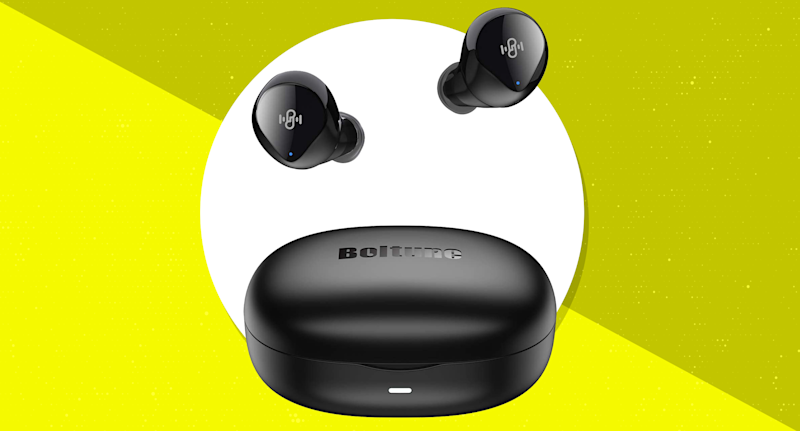 Save 47 percent—Boltune Bluetooth V5.0 Wireless Earbuds. (Photo: Amazon)