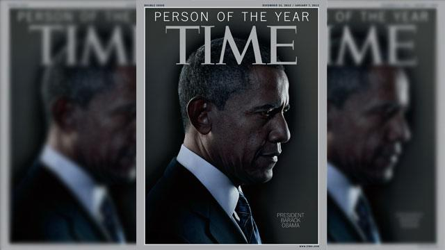 President Obama is Time's Person of the Year