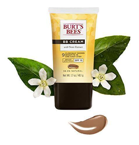 """<p><strong>Burt's Bees</strong></p><p>amazon.com</p><p><strong>$9.38</strong></p><p><a href=""""https://www.amazon.com/dp/B015Q4ME12?tag=syn-yahoo-20&ascsubtag=%5Bartid%7C2164.g.35854718%5Bsrc%7Cyahoo-us"""" rel=""""nofollow noopener"""" target=""""_blank"""" data-ylk=""""slk:Shop Now"""" class=""""link rapid-noclick-resp"""">Shop Now</a></p><p>Get more bang for your buck with this BB cream. This product is a triple threat: It fights wrinkles, moisturizes skin, and offers UV protection. </p>"""