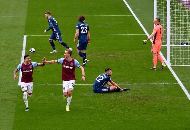 West Ham looked to be cruising after building a 3-0 lead