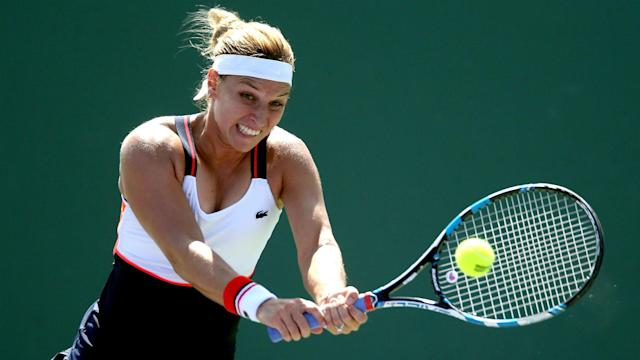 There will be no Dominika Cibulkova at this year's Stuttgart Open after the world number four withdrew due to a wrist injury.