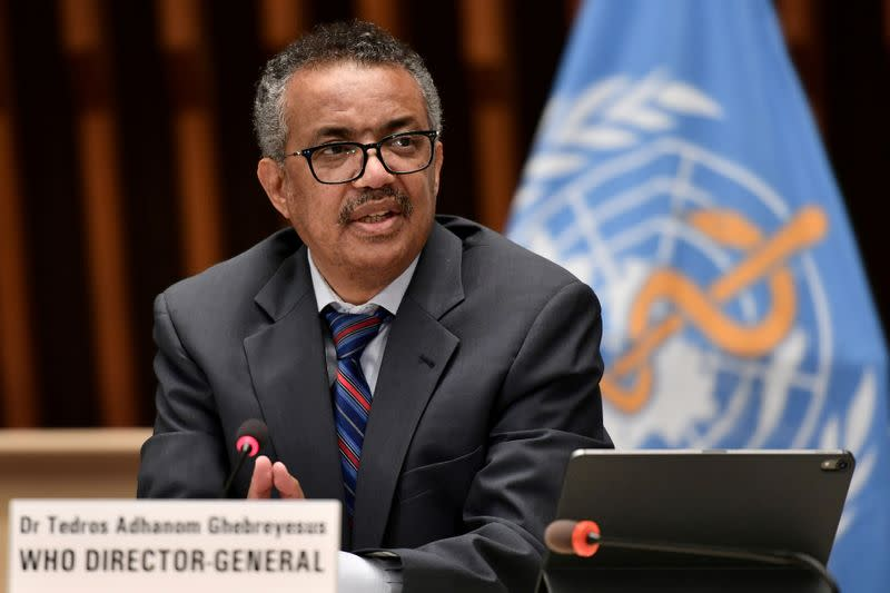 WHO chief urges more countries to join COVAX as death toll exceeds one million