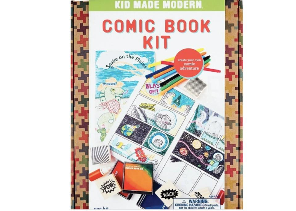 Comic Book Kit. (Image via Staples Canada)