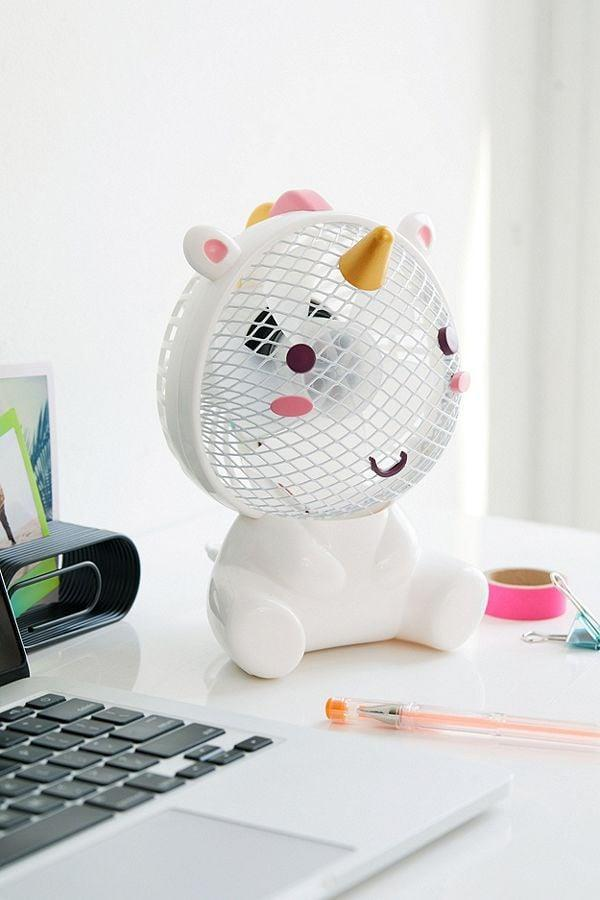 "<p>They can keep themselves cool as they do their homework with this fantastical <a rel=""nofollow noopener"" href=""https://www.popsugar.com/buy/Unicorn%20USB%20Fan-366332?p_name=Unicorn%20USB%20Fan&retailer=urbanoutfitters.com&price=28&evar1=moms%3Aus&evar9=45374878&evar98=https%3A%2F%2Fwww.popsugar.com%2Fmoms%2Fphoto-gallery%2F45374878%2Fimage%2F45374897%2FUnicorn-USB-Fan&list1=holiday%2Cgift%20guide%2Cparenting%20gift%20guide%2Cgifts%20for%20kids%2Ckid%20shopping%2Ctweens%20and%20teens%2Cgifts%20for%20teens&prop13=mobile&pdata=1"" target=""_blank"" data-ylk=""slk:Unicorn USB Fan"" class=""link rapid-noclick-resp"">Unicorn USB Fan</a> ($28).</p>"