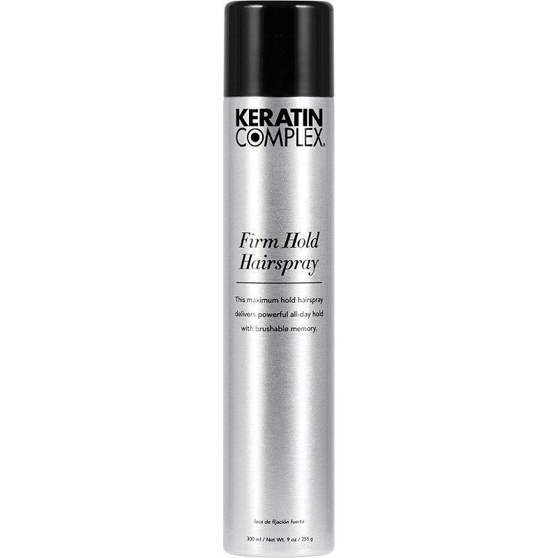 "<p>No matter your hair type, if your style definitely needs to not budge under any circumstances, this is the can you need to keep on your bathroom sink. Keratin Complex Firm Hold Hairspray ensures all-day hold. The look you start the day with is the one you'll end it with — and that means no flaky residue as the hours pass, too.</p> <p><strong>$26</strong> (<a href=""https://shop-links.co/1708187301899573338"" rel=""nofollow noopener"" target=""_blank"" data-ylk=""slk:Shop Now"" class=""link rapid-noclick-resp"">Shop Now</a>)</p>"