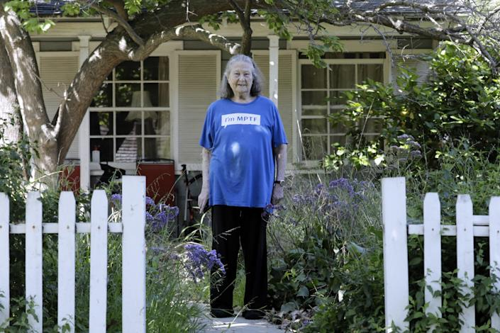 Carol Liston, 89, says her Studio City neighbors look out for her, even doing her grocery shopping.