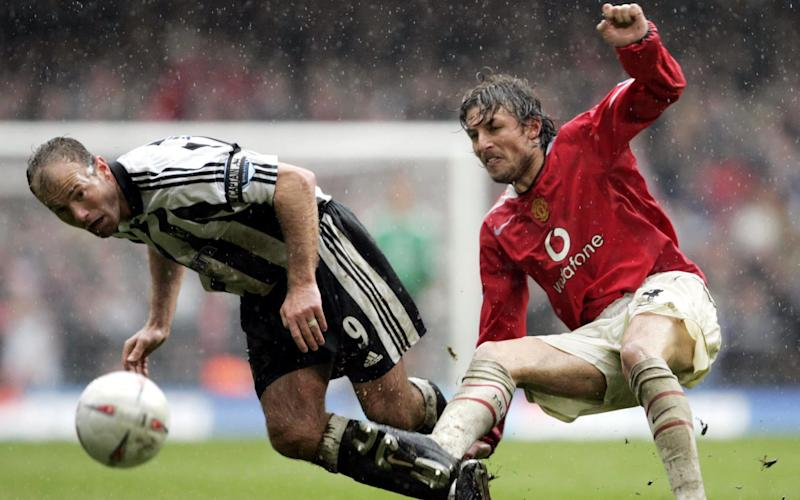 Gabriel Heinze tried to stand up to Roy Keane - Action Images