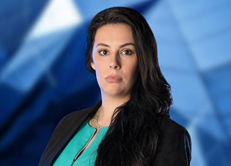 Elle Stevenson starred on The Apprentice in 2015. (BBC)