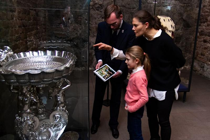 Princess Estelle and Princess Victoria