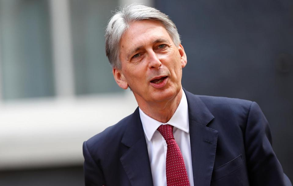 Chancellor Philip Hammond is pushing for a softer Brexit (AFP Photo/Daniel LEAL-OLIVAS)