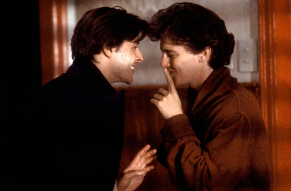 """<p>The 1985 movie <strong>St. Elmo's Fire</strong> is a coming-of-age tale that follows a group of recent college graduates as they make their way in the adult world. <a class=""""link rapid-noclick-resp"""" href=""""https://www.popsugar.co.uk/Rob-Lowe"""" rel=""""nofollow noopener"""" target=""""_blank"""" data-ylk=""""slk:Rob Lowe"""">Rob Lowe</a>, <a class=""""link rapid-noclick-resp"""" href=""""https://www.popsugar.co.uk/Demi-Moore"""" rel=""""nofollow noopener"""" target=""""_blank"""" data-ylk=""""slk:Demi Moore"""">Demi Moore</a>, and Andie MacDowell carry this heartwarming story that will give you all the fall feels. </p> <p><a href=""""https://www.amazon.com/St-Elmos-Fire-Rob-Lowe/dp/B003EYDU38/ref=sr_1_1?dchild=1&amp;keywords=saint+elmo%27s+fire&amp;qid=1632279698&amp;s=instant-video&amp;sr=1-1"""" class=""""link rapid-noclick-resp"""" rel=""""nofollow noopener"""" target=""""_blank"""" data-ylk=""""slk:Watch St. Elmo's Fire on Amazon Prime Video"""">Watch <strong>St. Elmo's Fire</strong> on Amazon Prime Video</a>.</p>"""