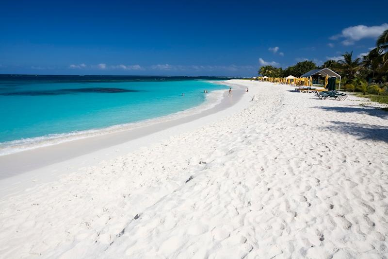 Anguilla: now that is some white sand - istock