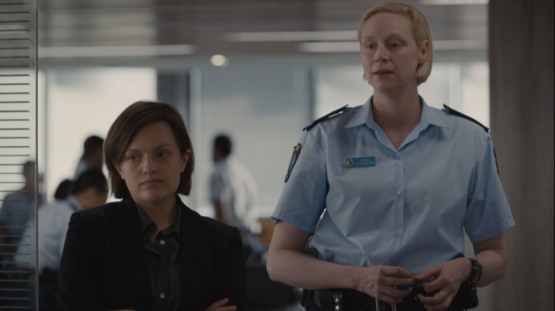 """Elisabeth Moss and Gwendoline Christie in """"Top of the Lake: China Girl."""" (SundanceTV)"""
