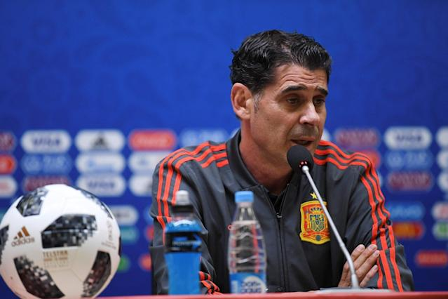 World Cup 2018: Spain can't afford to relax against 'excellent' Morocco, warns Fernando Hierro