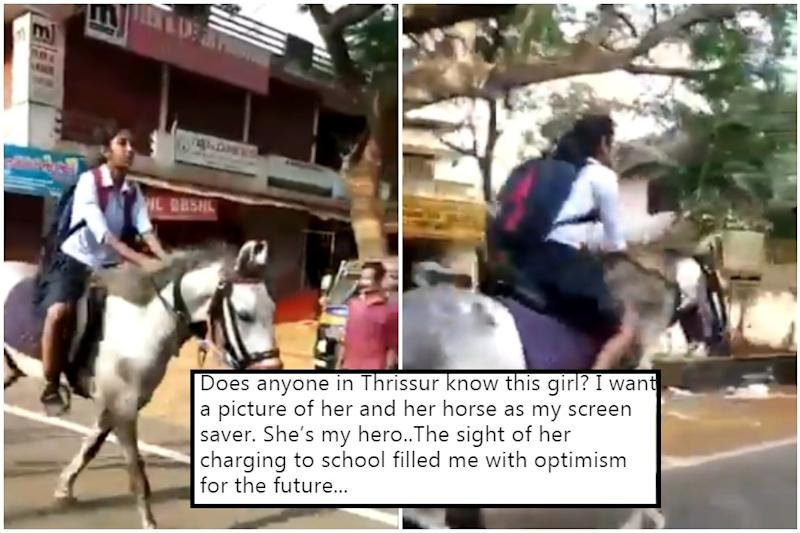 Kerala Girl Gallops to Class 10 Exams on Horseback, Anand Mahindra Says She's His Hero