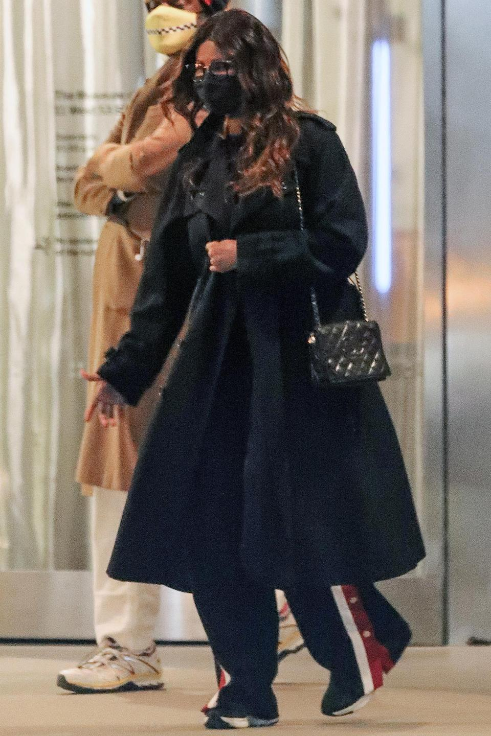 <p>Iman was spotted in New York City on her late husband David Bowie's 74th birthday.</p>