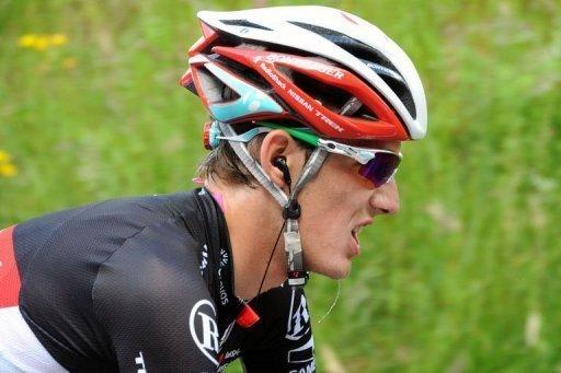 Andy Schleck has been diagnosed with a pelvis fracture following a crash last Thursday