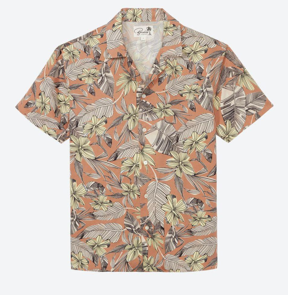 """<p><strong>Bonobos</strong></p><p>bonobos.com</p><p><strong>$68.00</strong></p><p><a href=""""https://go.redirectingat.com?id=74968X1596630&url=https%3A%2F%2Fbonobos.com%2Fproducts%2Flimited-edition-short-sleeve-shirts&sref=https%3A%2F%2Fwww.esquire.com%2Flifestyle%2Fg19621074%2Fcool-fathers-day-gifts-ideas%2F"""" rel=""""nofollow noopener"""" target=""""_blank"""" data-ylk=""""slk:Buy"""" class=""""link rapid-noclick-resp"""">Buy</a></p><p>Flower-print shirts have gone from """"tacky dad"""" status to stylish, thanks to the camp collar cut. Make sure he's up to date on the trend.</p>"""