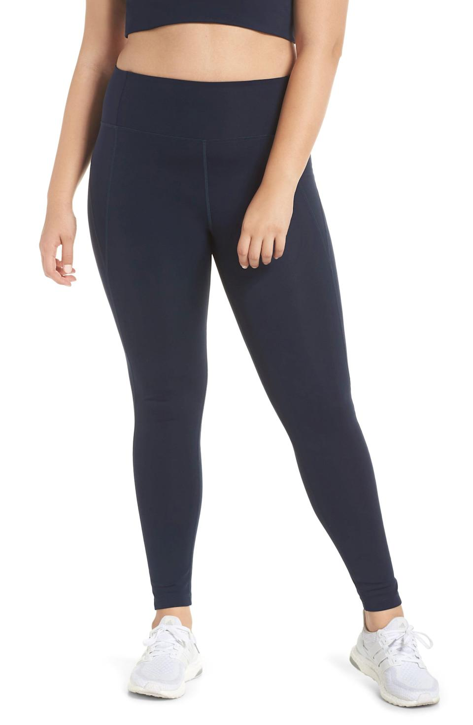 """<p><strong>Girlfriend Collective</strong></p><p>nordstrom.com</p><p><strong>$68.00</strong></p><p><a href=""""https://go.redirectingat.com?id=74968X1596630&url=https%3A%2F%2Fshop.nordstrom.com%2Fs%2Fgirlfriend-collective-high-waist-full-length-leggings%2F5075272&sref=https%3A%2F%2Fwww.goodhousekeeping.com%2Fhealth-products%2Fg4042%2Fbest-workout-leggings%2F"""" rel=""""nofollow noopener"""" target=""""_blank"""" data-ylk=""""slk:Shop Now"""" class=""""link rapid-noclick-resp"""">Shop Now</a></p><p>Leggings made of recycled plastic bottles has been gaining popularity over the past several years, but sometimes the quality of these leggings can be a let down. This style proves you don't have to sacrifice performance: The fabric uses about 25 plastic bottles per pair <em>and</em> it has a cult-like following from fans that call these their favorite leggings ever. The brand offers a <a href=""""https://go.redirectingat.com?id=74968X1596630&url=https%3A%2F%2Fwww.girlfriend.com%2Fproducts%2Fblack-compressive-high-rise-legging&sref=https%3A%2F%2Fwww.goodhousekeeping.com%2Fhealth-products%2Fg4042%2Fbest-workout-leggings%2F"""" rel=""""nofollow noopener"""" target=""""_blank"""" data-ylk=""""slk:variety of options"""" class=""""link rapid-noclick-resp"""">variety of options</a> for this style, including lots of colors, three inseam lengths, and sizes ranging from XXS through 6XL. Though they're not technically compression leggings, <strong>the style has more of a compressive, snug fit, which is good for high-impact activities.</strong></p>"""