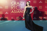 <p>Singaporean actress Victoria Loke poses for photographers at the Singapore premiere of 'Crazy Rich Asians' on 21 August 2018. (PHOTO: Yahoo Lifestyle Singapore) </p>