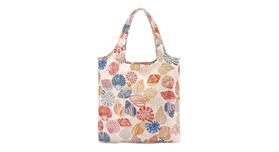 Seaside Shells Foldaway Shopper