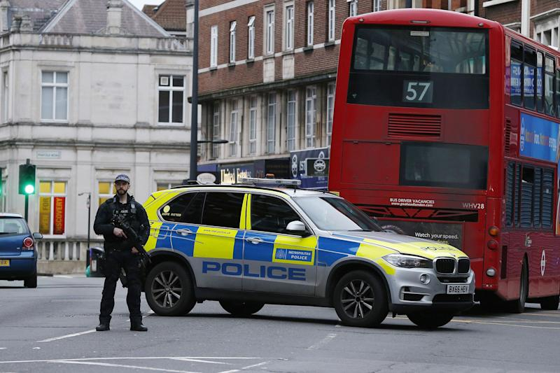 London Police Kill Man After Terror-Related Stabbings
