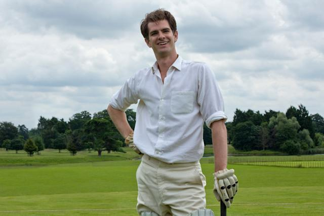 """In """"Breathe,"""" Andrew Garfielddisplays two of the Oscars' favorite traits: a physical ailment (polio) and a real-lifeinspiration (he plays British medical pioneer Robin Cavendish). That pairing worked for Eddie Redmayne in """"The Theory of Everything,"""" Colin Firth in """"The King's Speech"""" and Daniel Day-Lewis in """"My Left Foot,"""" to name a few. But all of those moviesgarnered far more commercial recognition than """"Breathe,"""" a cloying glob of sap that's probably too safe even for the academy's taste."""