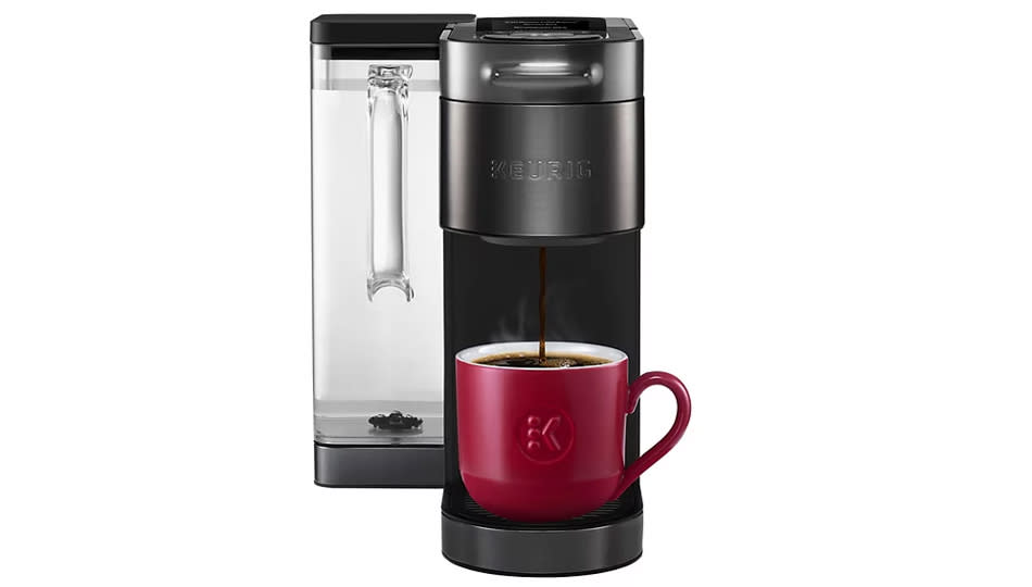 This Keurig coffee maker is the reason I wake up in the morning — and it's all yours for a discount. (Photo: Kohl's)