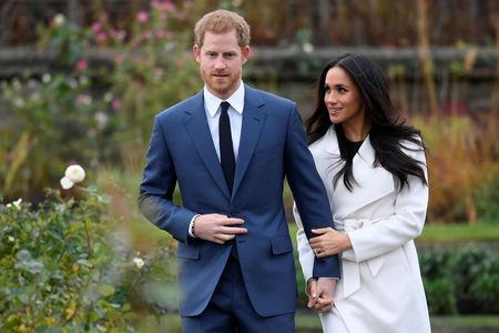 Prince Harry and Meghan Markle to Wednesday  at Windsor Castle