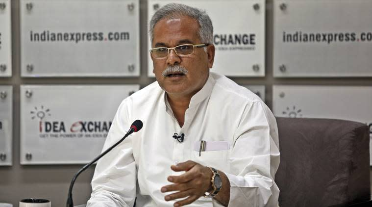 Bhupesh Baghel, chhattisgarh cm, sex cd case, Bhupesh Baghel sex cd case, chhattisgarh news, sc stays hearing, sex cd case sc hearing, indian express