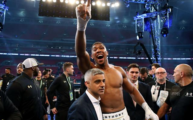 <span>Joshua is the favourite to win SPOTY</span>