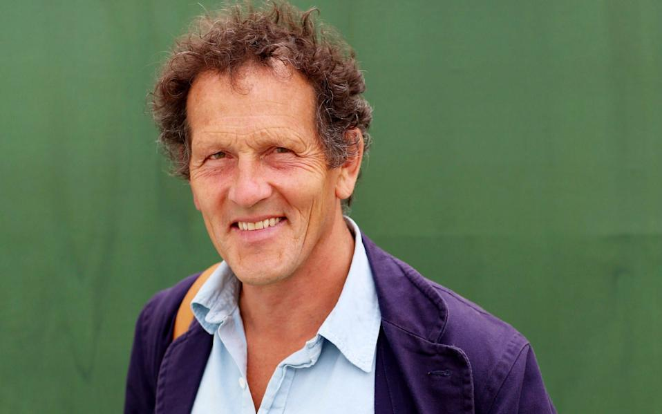 Monty Don is trying to garden more sustainably - Clara Molden